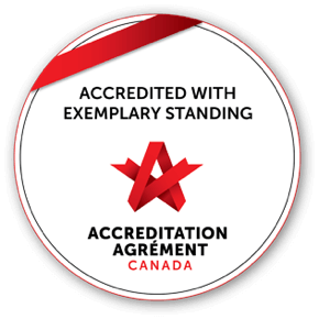 Accredited With Exemplary Standing